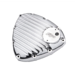 Motone Finned Timing/Stator Cover - Polished Thruxton/Bonneville/Street Twin 2016on.